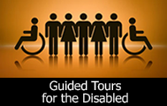 Guided tours for the disabled