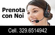 Prenota con noi - Tel. 075 32639 / Cell. 339 4089926