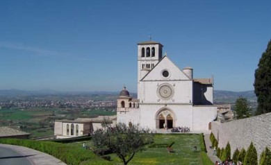 Assisi-Basilica di San Francesco